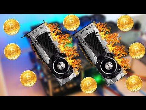 Bitcoin Mining 2x GTX 1080 TI & 1070 Get Started With Links In Description!