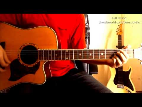 Without The Love Guitar Chords - Demi Lovato - Khmer Chords