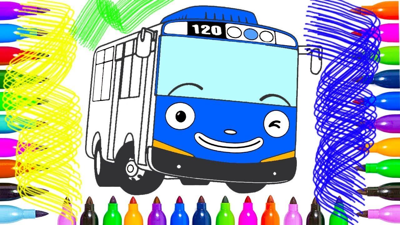 приключения тайо Coloring Page тай тайо раскраска для детей