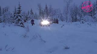 Arctic Lapland Rally 2021 EK 2 Action & Crash
