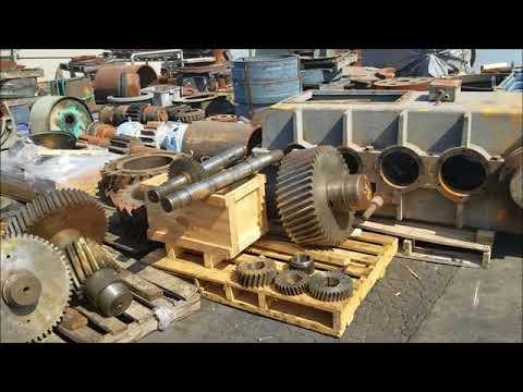 Liebherr Crane gearbox repair