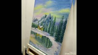 National Park, #oil #painting #speedpainting #timelapsepainting #арт#рисуем #природа #пейзаж