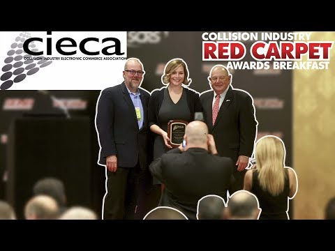 Collision Industry Red Carpet Awards Breakfast at the 2018 SEMA Show