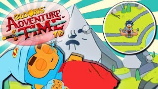 SUPERMONEKY I TESTUJEMY JUGGERNAUTA | #013 | Bloons Adventure Time TD | PL
