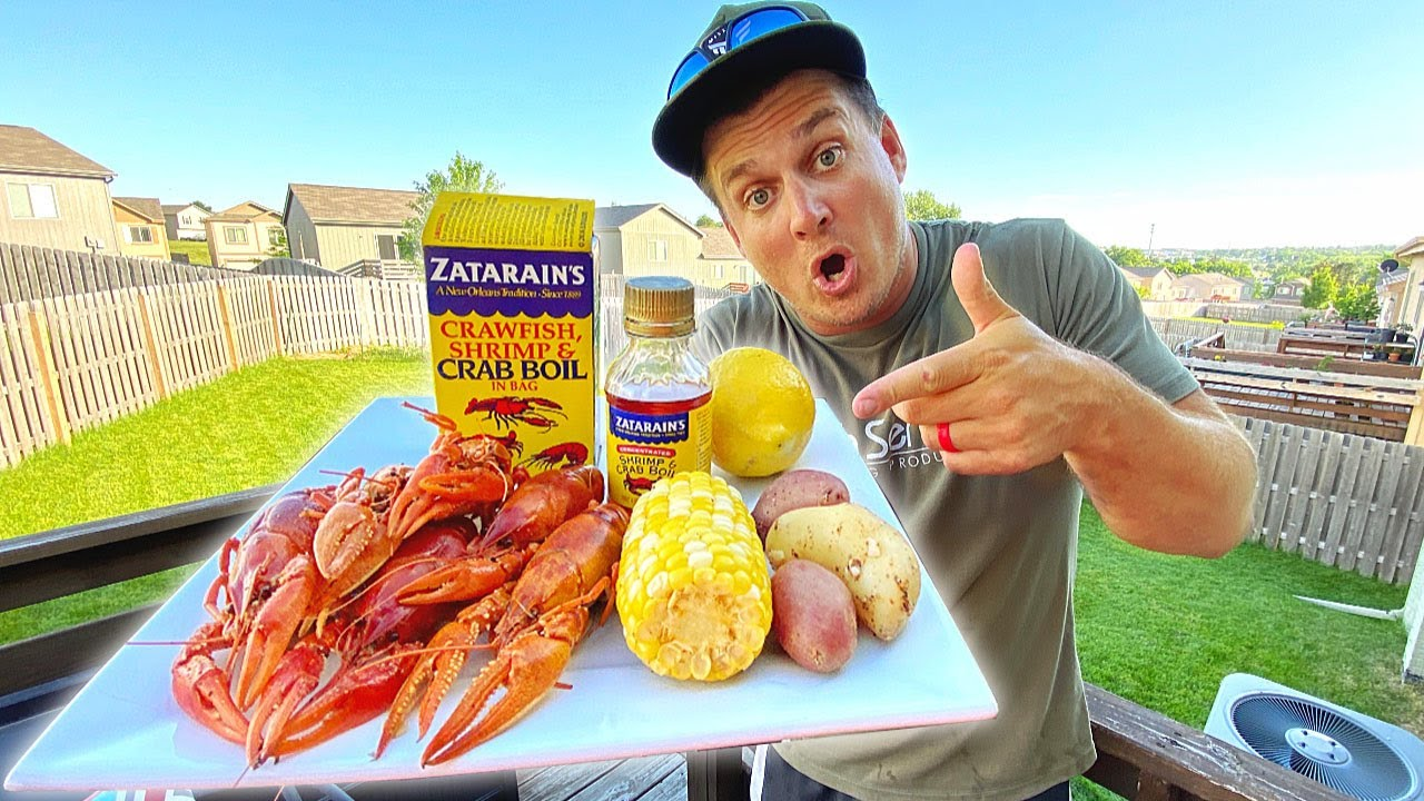 MASSIVE Crawfish Catch n Cook!!! -First EVER Craw Boil