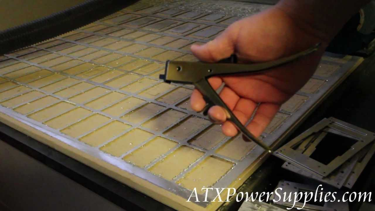 Sheet Metal Cutter Hand Nibblers Video Demo Youtube