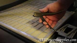 Sheet Metal Cutter Hand Nibblers Video Demo