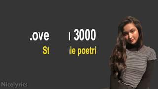 Stephanie Poetri - I Love You 3000 | Lyrics Terjemahan Indonesia