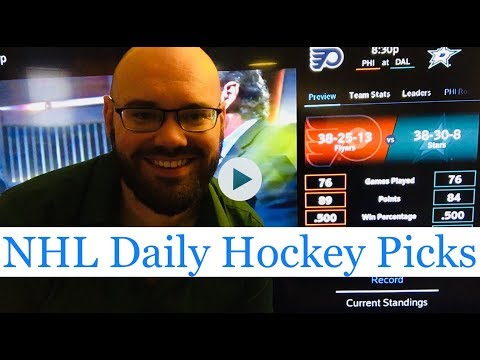 NHL Picks | March 27, 2018 (Tue.) | Hockey Sports Betting Predictions | Vegas Lines & Odds