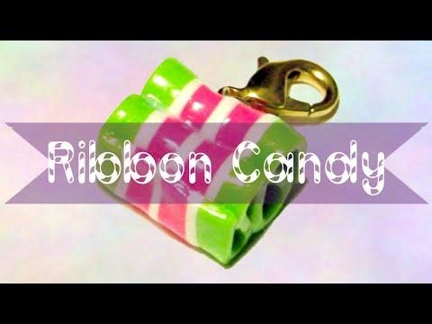 Diy ribbon candy ornaments