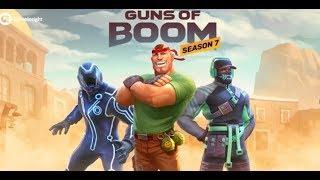 Guns of Boom Боевая карьера 7 сезон, Хеллоуин и другие новости. Играю в Halloween