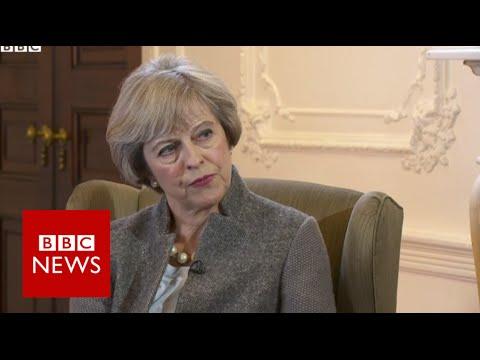 Brexit 'may bring difficult times' says Theresa May - BBC News