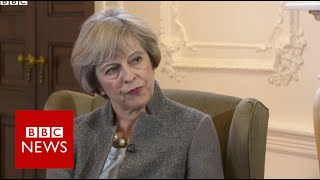 Brexit 'may bring difficult times' says Theresa May - BBC News