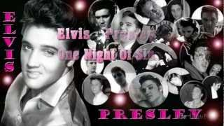 Elvis Presley-One Night Of Sin (Unreleased Version) 1957,  (With Lyrics)