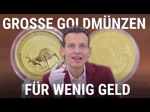 Große Goldmünzen für wenig Geld