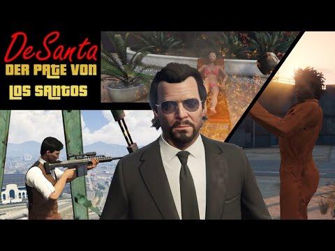GTA Kurzfilm: DeSanta Der Pate von Los Santos   YU91 Film