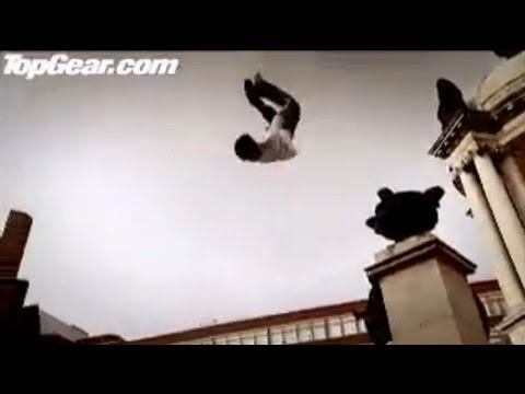 Peugeot 207 vs Parkour (Free-Runners) - Top Gear - BBC