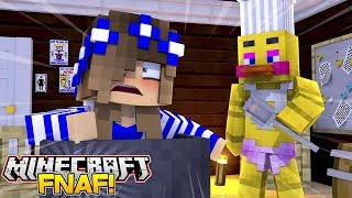 CHICA THE CHICKEN KILLS LITTLE CARLY IN THE KITCHEN!! #5 (Minecraft FNAF)