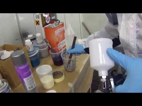Готовим основу к покраске и ищем варианты, чем можно обезжирить поверхность