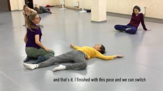 Spirals. Спирали. Contemporary dance technique. Техника контемпорари.