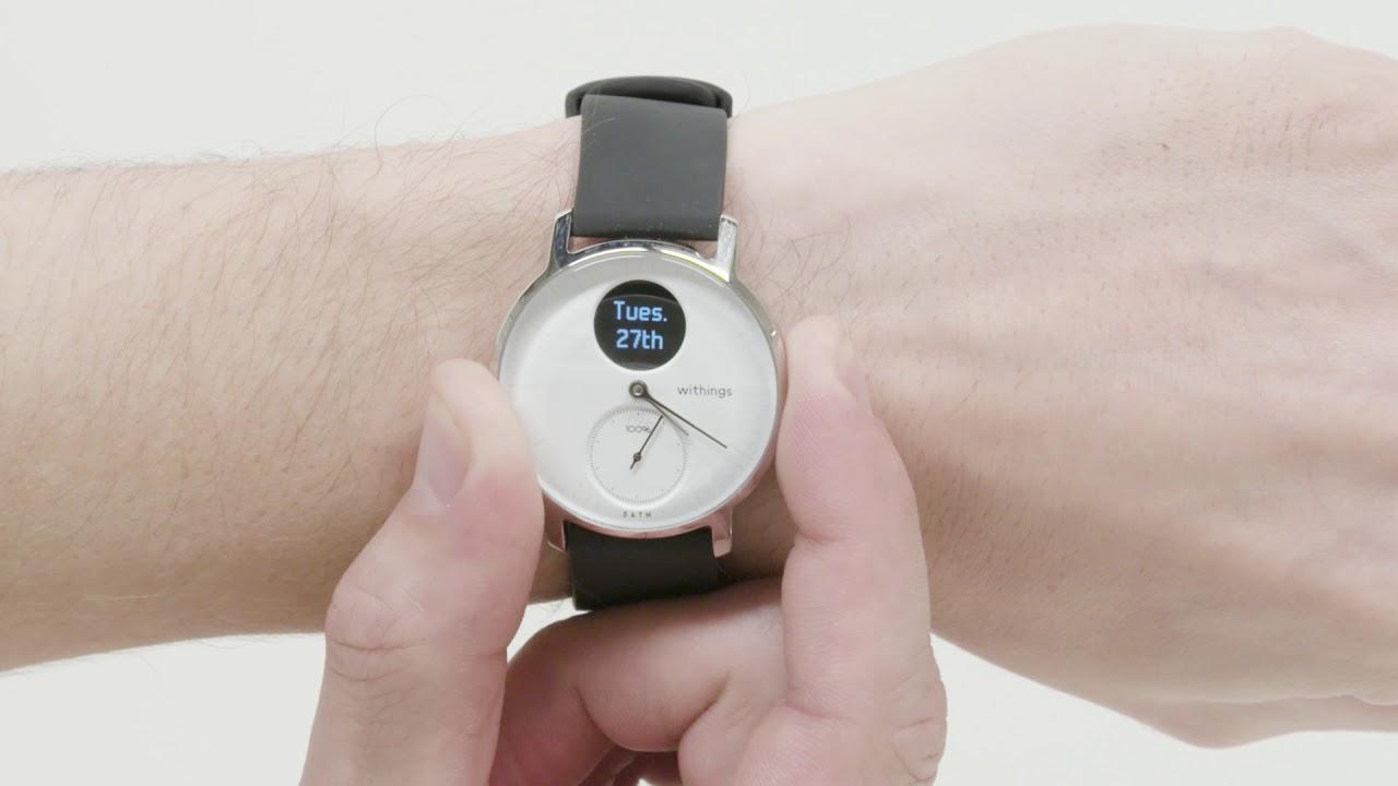 video STEEL HR Smarte Uhr