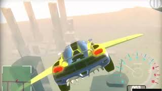 Flying Car Simulator Game | Car Games