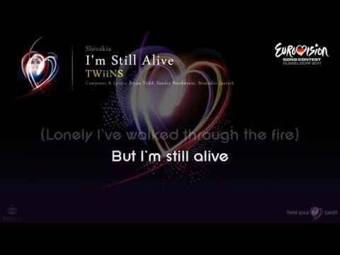 "TWiiNS - ""I'm Still Alive"" (Slovakia) - [Karaoke version]"