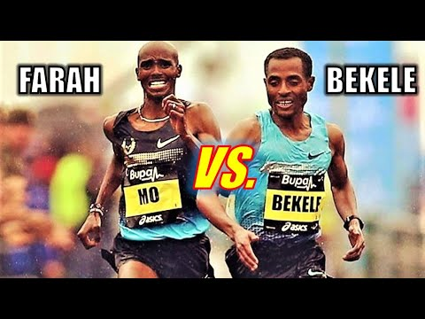 KENENISA BEKELE VS. MO FARAH!! || THE 2020 HALF MARATHON SHOWDOWN!