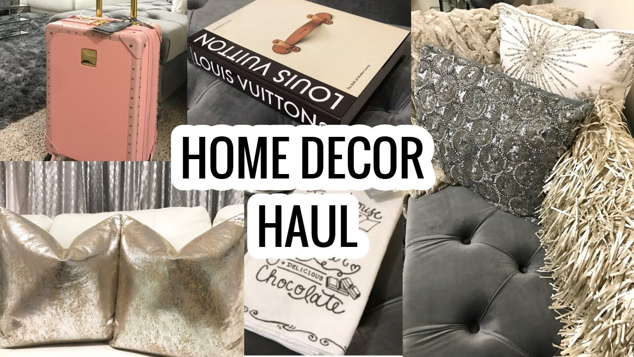 Home Decor Haul 2017 Homegoods Marshalls T J Maxx Haul