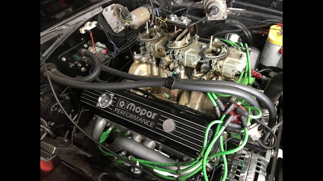 hight resolution of 440 wedge mopar chrysler water pump replacement tip
