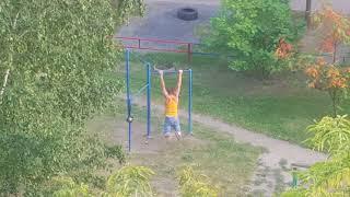 Нарик в Челябинске тренируется под спайс...