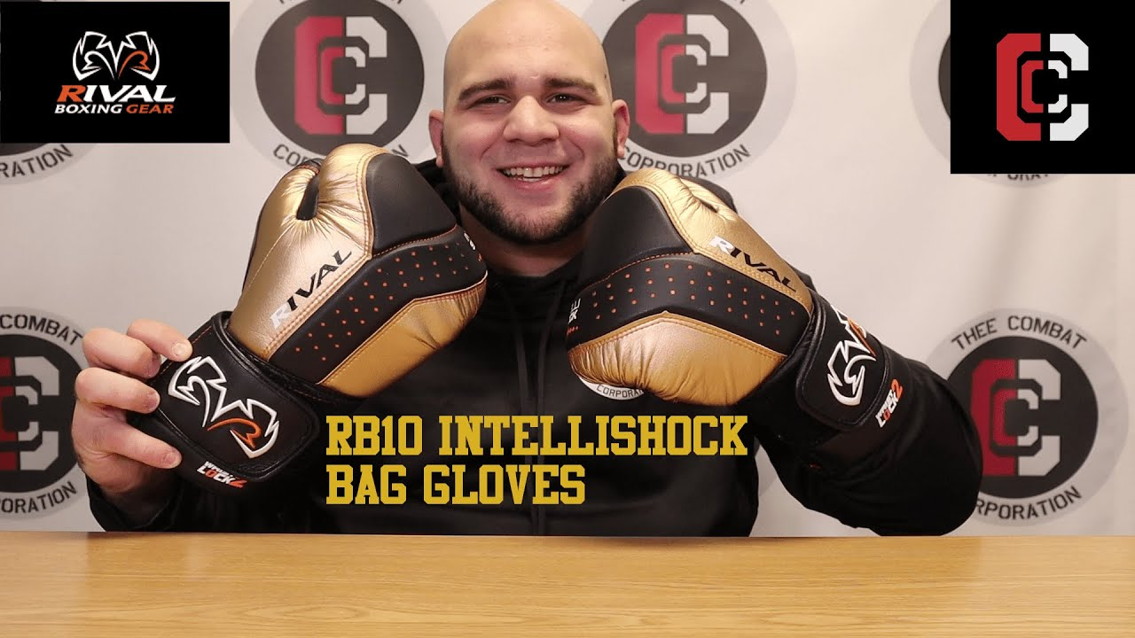 Rival Boxing Bag Gloves RB10-Intelli Shock