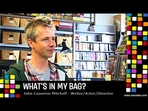 John Cameron Mitchell - What's In My Bag?