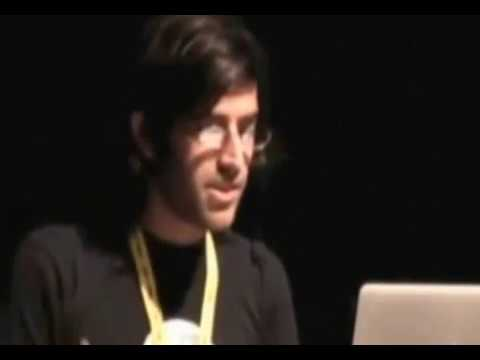 Aaron Swartz On SOPA - enemies of the freedom to connect