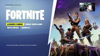 [REDIFF] LIVE STREAM: Discovery of Fortnite PS4 - New Battle Royale FREE