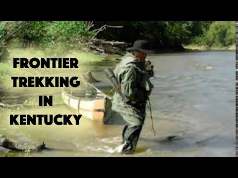 Frontier trekking Kentucky - 1776