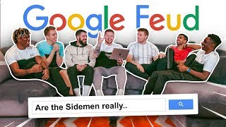 SIDEMEN PLAY GOOGLE FEUD