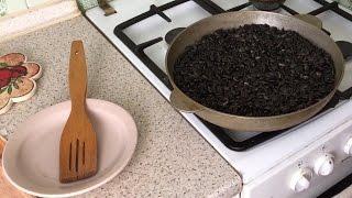 Жареные семечки / Как правильно пожарить семечки?