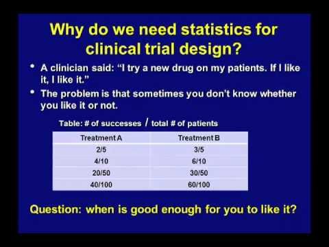 """""""Design and Statistical Considerations for Clinical Trials"""""""