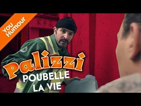 PALIZZI - Poubelle la vie, avec Jean Dujardin