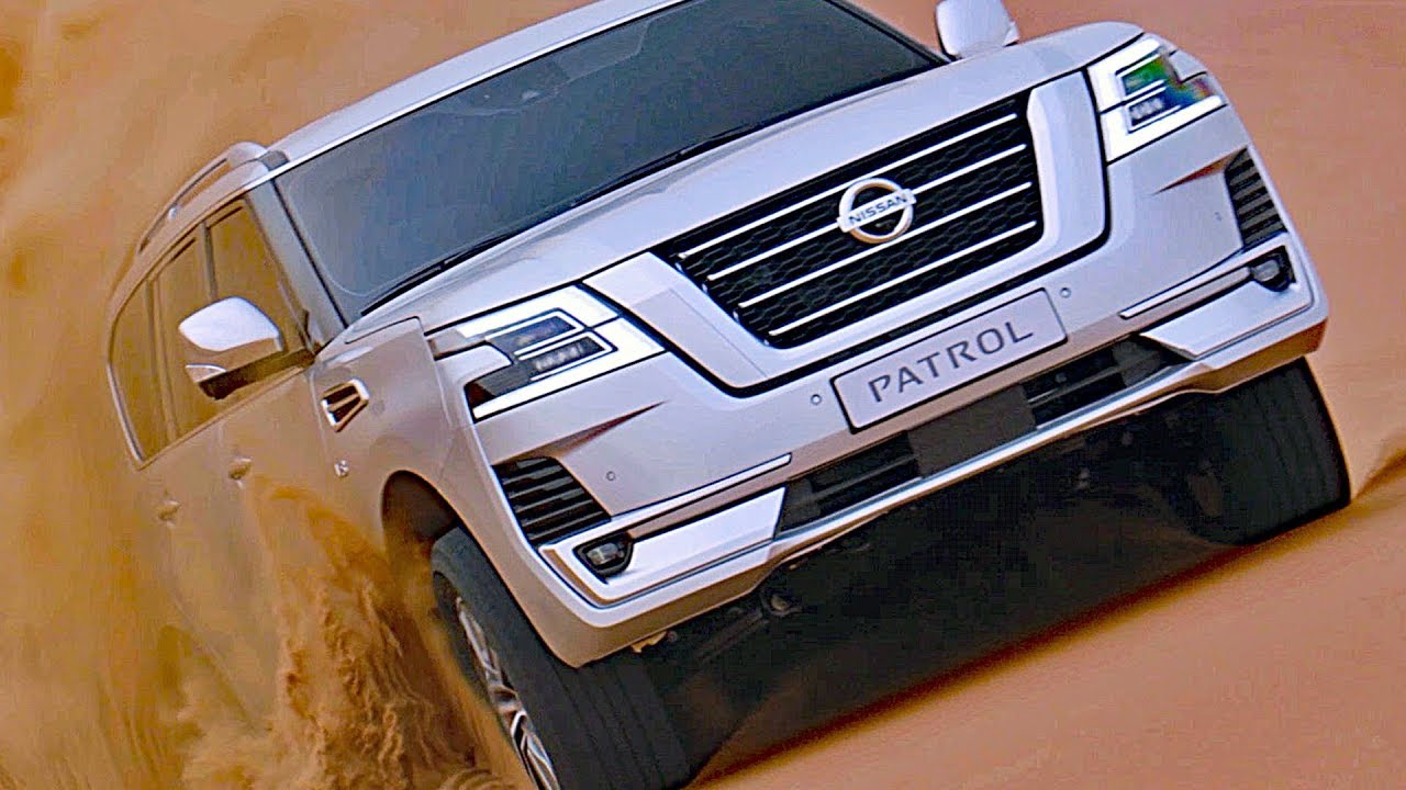 2020 Nissan Patrol Diesel Exterior and Interior