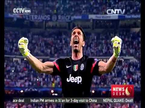 UEFA Champions League Semi-final Real Madrid 1 - Juventus 1
