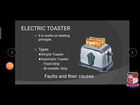 GTU DI ELECTRICAL ENGINEERING 3340903 Electric Toster  Domestic Electrical Appliances 4769