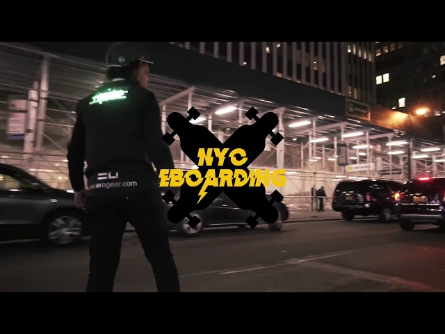 NYC Eboard Erogear Halloween Ride