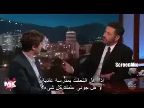 """مترجم---مقابلة-مع-بطل-مسلسل-the-good-doctor-""""فريدي-هيمور""""-ويقول-بأنه-يتحدث-العربية"""