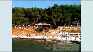 Пляж на Принцевых островах в Стамбуле(Видео снято в 2013 году в августе на втором по величине острове из архипелага Принцевых островов в Мраморном..., 2014-07-15T14:39:32.000Z)