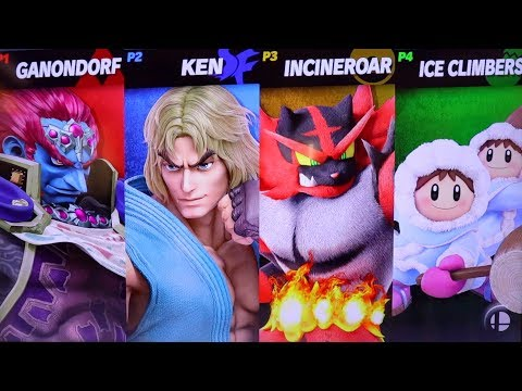 TRYING OUT KEN AND WOLF!!! Super Smash Bros Ultimate Gameplay!