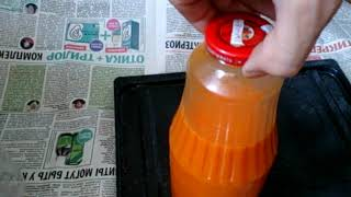 Сок из облепихи. Концентрация сахара для продолжительного и недлительного хранения