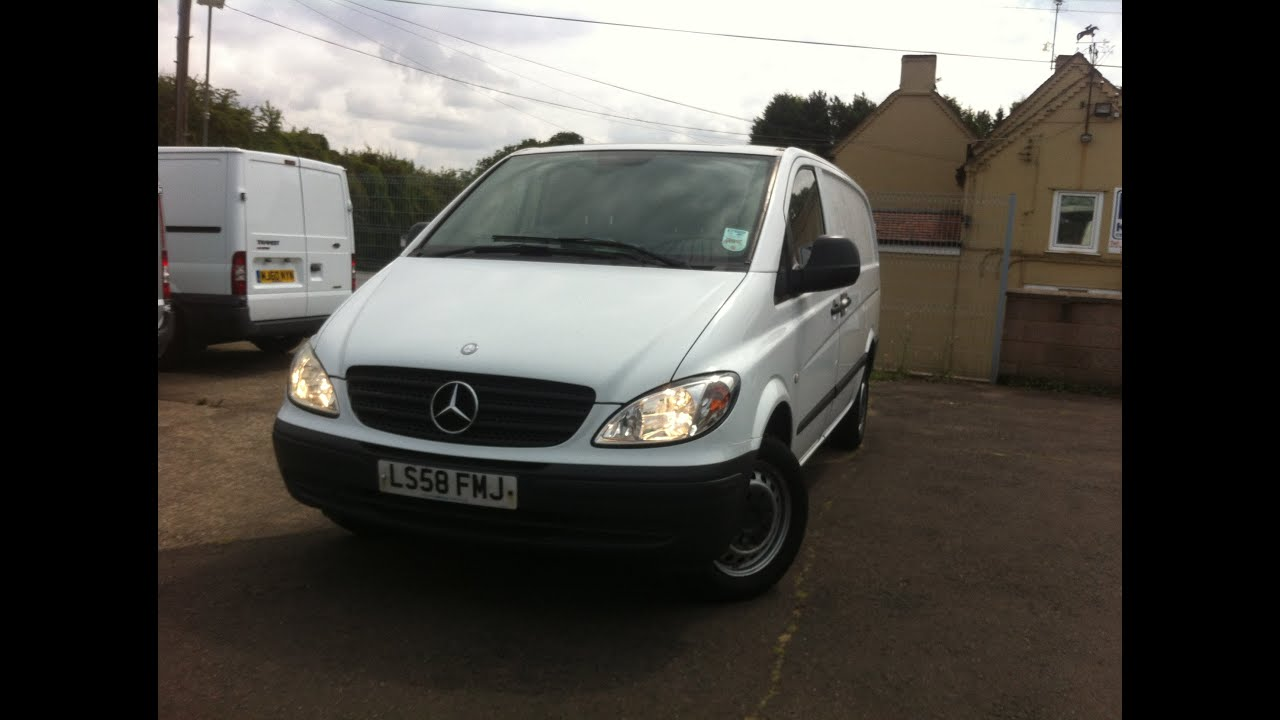2008 mercedes benz vito van review youtube for Mercedes benz vito review