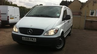 2008 MERCEDES-BENZ VITO VAN REVIEW(, 2014-08-16T10:47:35.000Z)